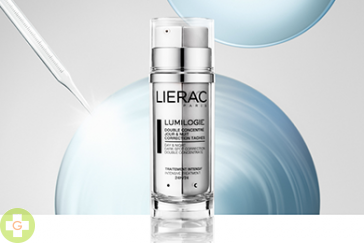 LIERAC LUMILOGIE DOBLE CONCENTRADO 24 H ANTIMANCHAS