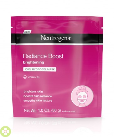 NEUTROGENA RADIANCE BOOST HYDROGEL RECOVERY MASK 30 ML (ROSA)