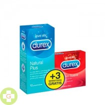 DUREX NATURAL PLUS 12+3 SENSITIVO SUAVE
