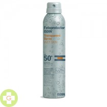 FOTOPROTECTOR ISDIN SPF-50+ SPRAY TRANSPARENTE - WET SKIN (200 ML )