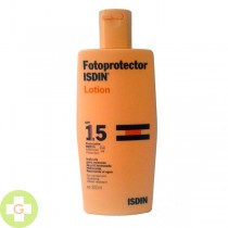FOTOPROTECTOR ISDIN SPF-15 LOTION - (300 ML )