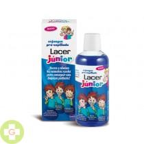 ENJUAGUE PRE CEPILLADO LACER JUNIOR - (500 ML )