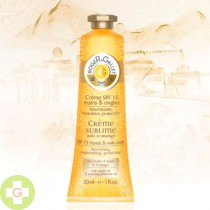 ROGER & GALLET CREMA SUBLIME MANOS Y UÑAS - BOIS D ORANGE (30 ML )