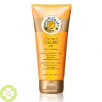 ROGER & GALLET CREMA PERFUMADA SUBLIME ORO - BOIS D'ORANGE EFECTO LUMINOSO (200 ML )