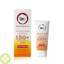 BE+ GEL FACIAL PIELES GRASAS  SPF 50+ COLOR 50 ML