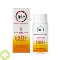 BE+ PROTECCION SOLAR ULTRAFLUIDO SPF 50+ FACIAL COLOR 50 ML