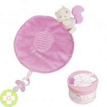 CHICCO SOFT CUDDLES MANTITA ROSA