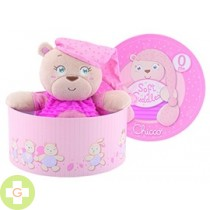 CHICCO SOFT CUDDLES PELUCHE ROSA
