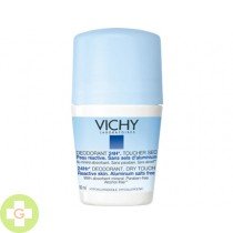 DESODORANTE 24 H SIN SALES DE ALUMINIO - VICHY (ROLL ON 50 ML )