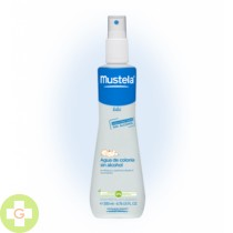 MUSTELA BEBE AGUA DE COLONIA SIN ALCOHOL - (200 ML )