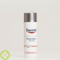 EUCERIN ANTIEDAD HYALURON FILLER CC CREAM COLOR MEDIO 50  ML
