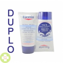 EUCERIN PACK REPARADOR DE MANOS 2*75 ML