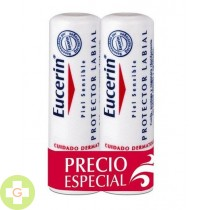EUCERIN PACK PROTECTOR LABIAL X 2