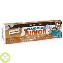 FLUOR KIN PASTA JUNIOR - (COLA 75 ML )