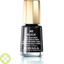 MAVALA ESMALTE COLOR BLACK 48