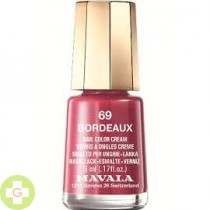 MAVALA ESMALTE COLOR BORDEAUX 69
