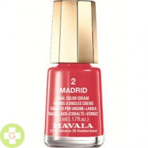 MAVALA ESMALTE COLOR MADRID 2