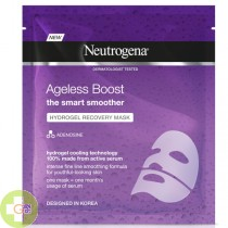 NEUTROGENA AGELESS BOOST HYDROGEL RECOVERY MASK 30 ML (MORADA)