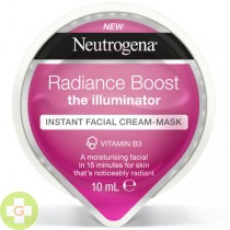 NEUTROGENA RADIANCE BOOST EXPRESS FACIAL CREAM-M 10 ML (ROSA)