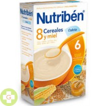 NUTRIBEN 8 CEREALES Y MIEL CALCIO - (600 G )