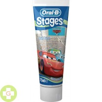 ORAL-B STAGES 3 PASTA DENTAL INFANTIL - (4-8 AÑOS 75 ML )