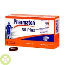 PHARMATON 50 PLUS - (30 CAPS )